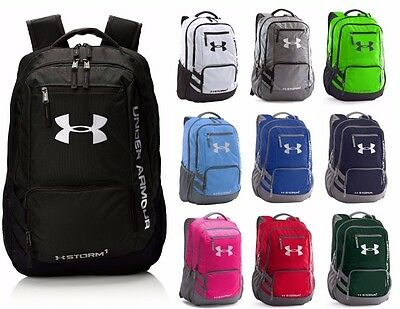 Under Armour Hustle 3 Backpack Team Bag School Bag NEW ](New School Clothes)