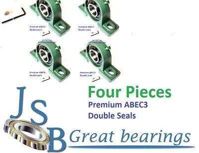 Q.4 Premium Ucp204-12 Double Seals Abec3 Pillow Block Bearings Bore 34 Ucp204