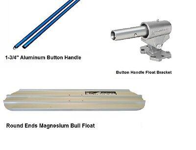 Kraft Tool Magnesium Bull Float 48 X 8 With Ezy Tilt Bracket Handles