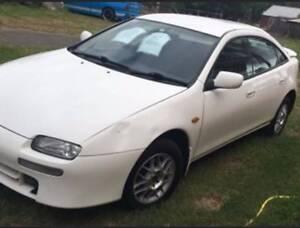 1996 Mazda 323 Hatchback White Maraylya The Hills District Preview