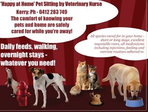 Pet/House Sitting by Veterinary Nurse All Areas Ongoing in 2017 Adelaide CBD Adelaide City Preview