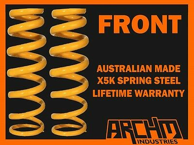 """FORD FALCON XC 6CYLINDER STEEL HEAD FRONT STANDARD HEIGHT COIL SPRINGS """"STD"""""""