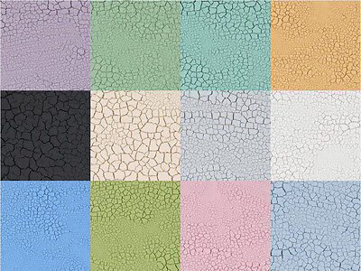 Cosmic Shimmer Crackle Paint - ALL COLOURS