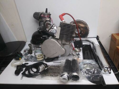 YD100  100CC Complete Dio Bicycle Engine  Kit  with OKO Carburetor, Extra Jets