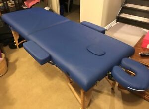 NEW PORTABLE MASSAGE TABLE WITH ALL ACCESSORIES !!!! $300