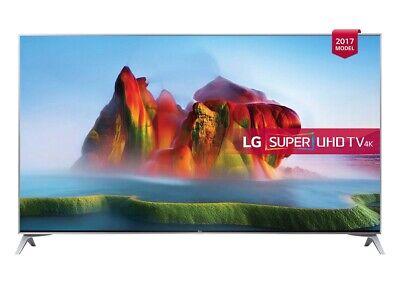 LG 49SJ800V 49 Inch SMART 4K Ultra HD HDR LED TV Freeview Play A Grade