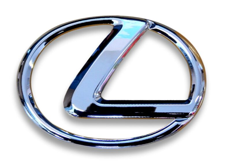 NEW* LEXUS IS IS250 RX350 RX450 GS300 GS430 REAR BOOT BADGE EMBLEM 90975-02079