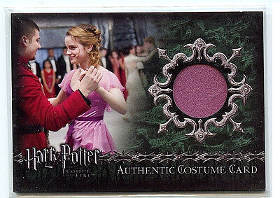 Harry Potter Goblet of Fire Update Artbox Costume Card C7 Ball Dress HP1