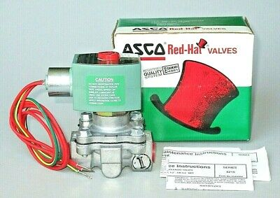 ASCO Red Hat Solenoid Valve 8215G10 82150G010, 3/8