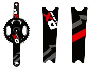 SRAM XO1 Crank arms protection Stickers for MTB bike bicycle crankset race decal