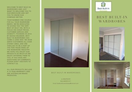 Special built in wardrobe up to 2400mm fully installed sydney best built in wardrobes solutioingenieria Images