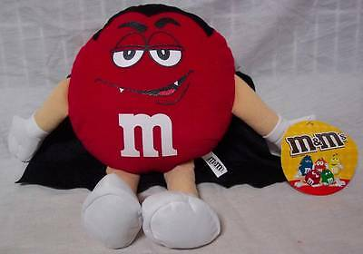 M&M's RED HALLOWEEN M&M CHARACTER AS VAMPIRE DRACULA 11