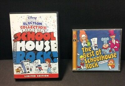 The Best of Schoolhouse Rock Music/CD & SHR Election Collection DVD Kids