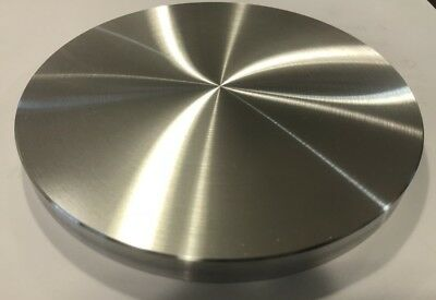 Aluminum Round Disc 8 Diameter X 12 Thickplate Very Flat Fast Ship Usa