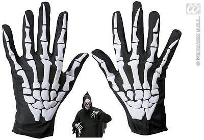 Skelett Handschuhe m. erhöhten Knochen,Kinder/Erwachsene Halloween 852