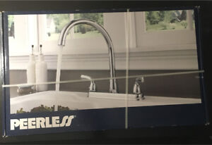 Peerless standard kitchen faucet in chrome