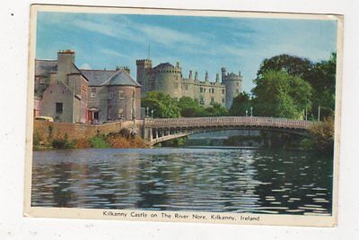 Kilkenny Castle River Nore Kilkenny 1970 Postcard Ireland 640a
