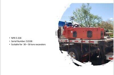 Npk Hydraulic Breaker Model E 218 For Excavator