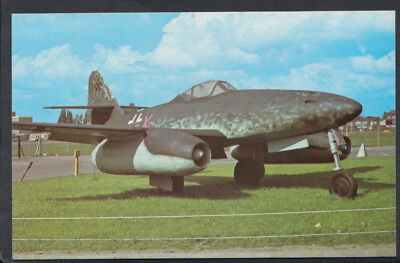 Military Aviation Postcard - Messerschmitt ME262 A-I Jet Fighter Plane  A9949
