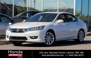 2015 Honda Accord Touring NAVI CUIR BAS KM GPS LEATHER ROOF LOW