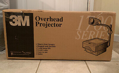 3m 1707 Overhead Projector 1700 Series With Enx Lamp New In Box