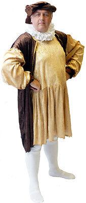 / Tudor / Historische Kostüm Komplettes Alle Größen S-XXXXL (König Henry Kostüm)