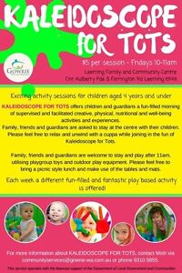 Kaleidoscope for Tots PLAYGROUP Leeming Melville Area Preview