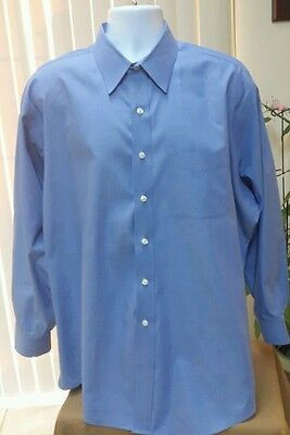 Von Maur Collection Wrinkle Free Dress Shirt   17 1 2   35