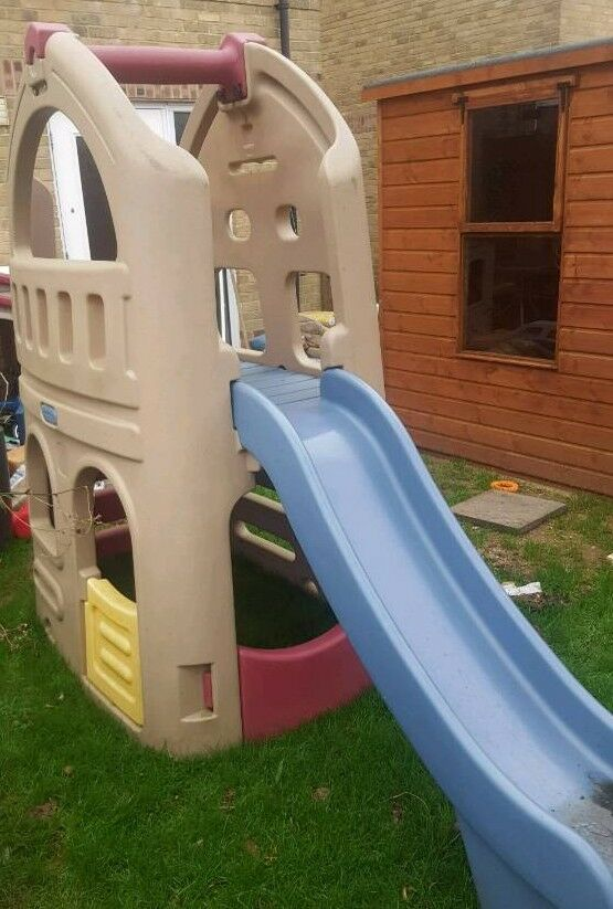 Step 2 slide and playhouse