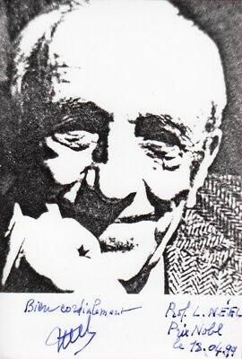 "LOUIS-EUGENE-FELIX NEEL --- ""Nobelpreis"" - original signiert - 8#11"