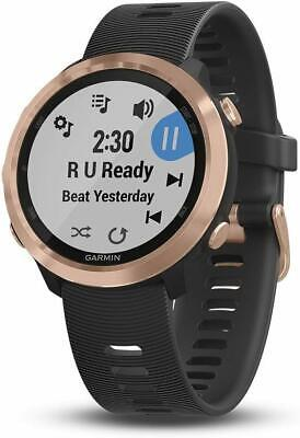 Garmin Forerunner 645 Music GPS Running Smartwatch w/ Music & HR - Rose Gold NEW