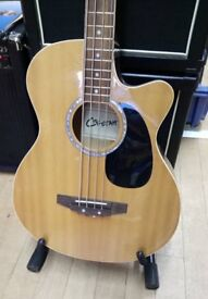 Preowned Cheetah Electro-Acoustic Bass Guitar