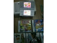 Nintendo DS I complete console with games .
