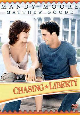 CHASING LIBERTY Movie POSTER 27x40 C Mandy Moore Matthew Goode Mark Harmon for sale online
