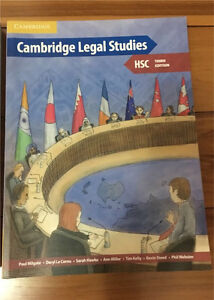 Cambridge legal studies textbooks Hornsby Hornsby Area Preview