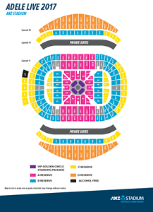 Adele - Sydney - 2 x A Reserve Floor tickets 11 March Emu Heights Penrith Area Preview