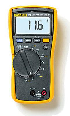 Fluke 117c Havc Voltalert Backlight Multimeter Brand New F117c