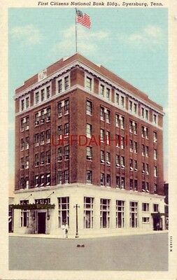 First Citizens National Bank Building  Dyersburg  Tn
