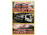 SUFFOLK SCRAP CARS WANTED COLLECTED