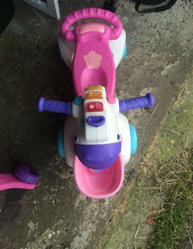 Toddlers first scooter