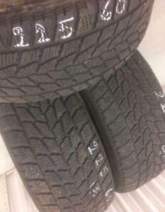 3 Toyo winter tires:225/60R16