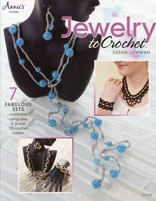 Jewelry to Crochet 7 Sets Annie's Crochet Pattern Booklet NEW