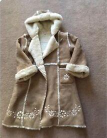 Girls coat / monsoon 6-8 years