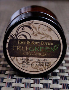 TRU-GREEN ORGANICS body butter and Cleanser beauty sets London Ontario image 2