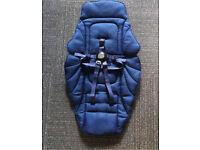 mamas and papas seat liner navi blue