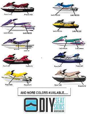 Seat Cover Skin 93-08 Sea Doo GTS GTI GTX GS ANY COLOR! ~FREE MANUAL AVAILABLE!~