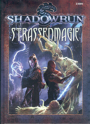 Shadowrun 4te Edition - Strassenmagie, deutsche Ausgabe