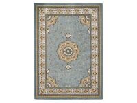 Brand new Heritage 4400 Hand Carved Traditional Blue & Cream Rug 120 X 170 cms RRP £73.95