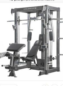 * used *Golds gym pro series smith machine