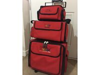 Sizzix Tote Bag - Set of 3 Red Bags, Excellent Condition